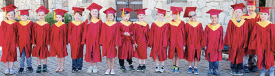 Kids graduate from St. Peter's