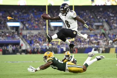Ravens Offense Football