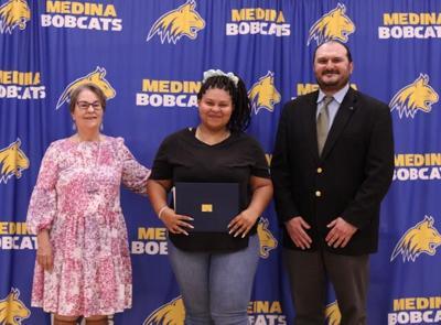 Medina senior accepts Joshua Tyree Williams Scholarship