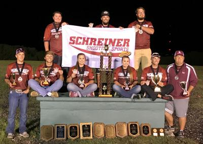 Schreiner Shooting Sports Society ACUI competitors