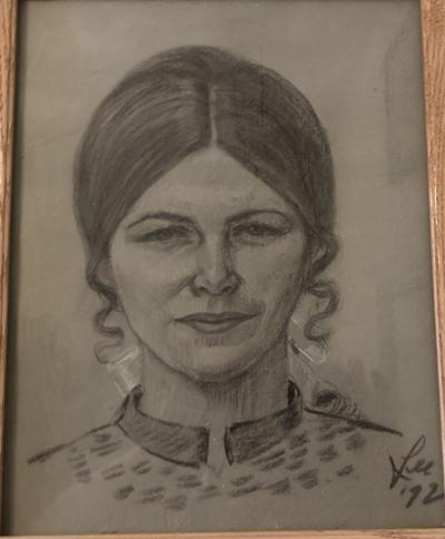 Sketch of mother