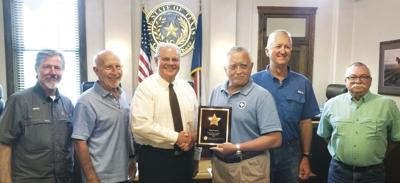 Kerr County Receives TAC 'Excellence in Safety' Award