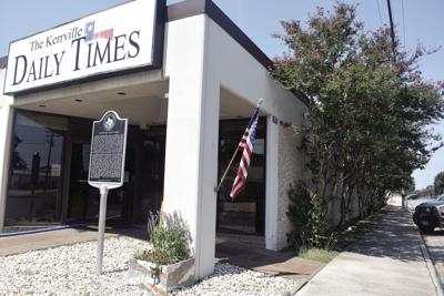 The Kerrville Daily Times building will soon have four panels depicting history of communications