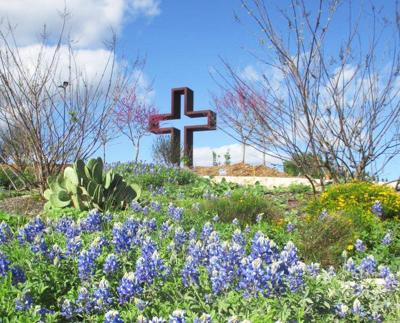 Officers, trustees will continue work at sculpture and prayer garden