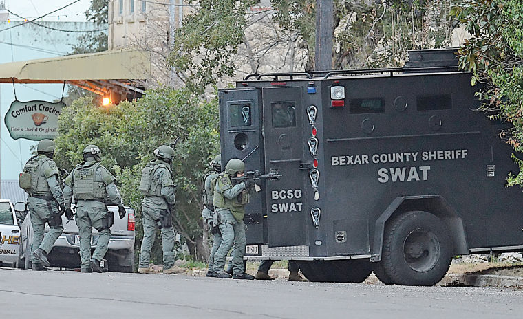 Comfort man arrested after 8-hour standoff | Police Blotter