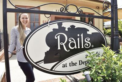 Rails, a Cafe at the Depot a popular place for history buffs, foodies