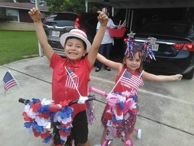 Bluebell Hills Fourth of July parade