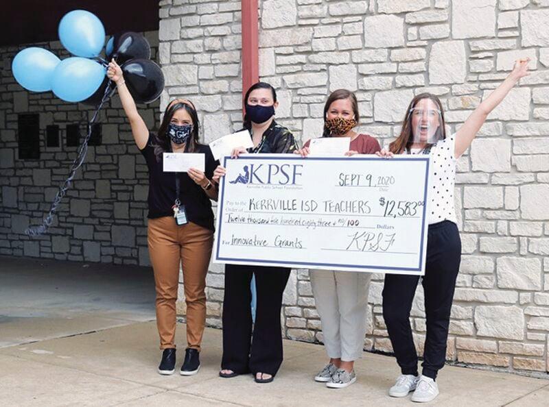 KPSF: Nimitz teachers big get check
