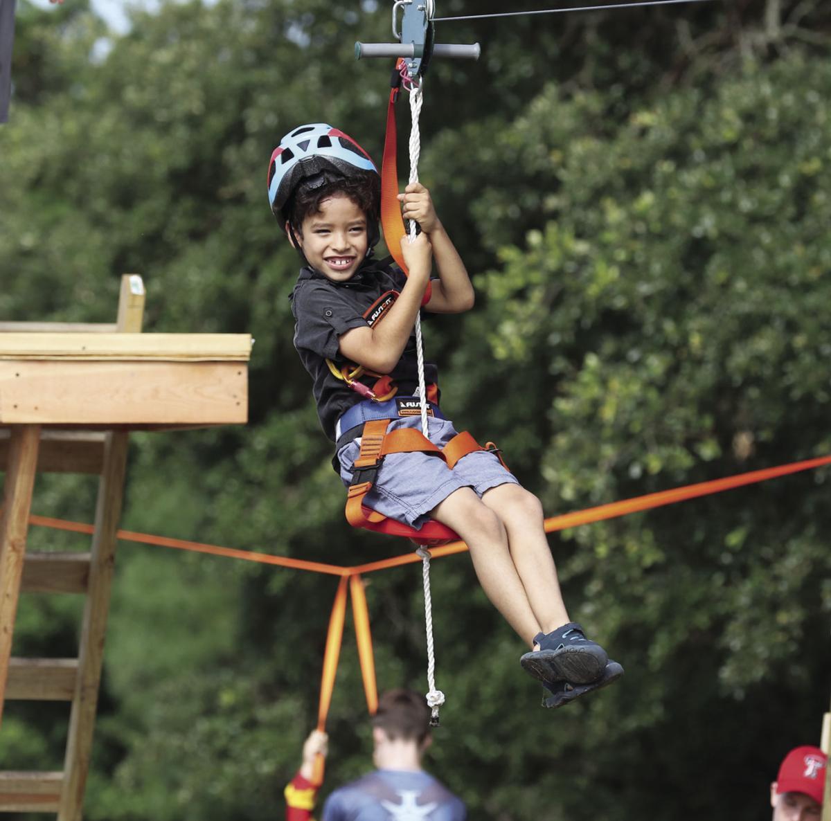 Ziplining on tap at VBS