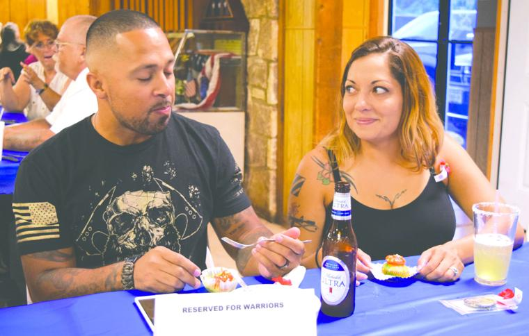 Wounded warriors dine at local VFW post