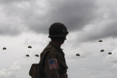 Veterans, others observe 75th anniversary of D-Day in Normandy