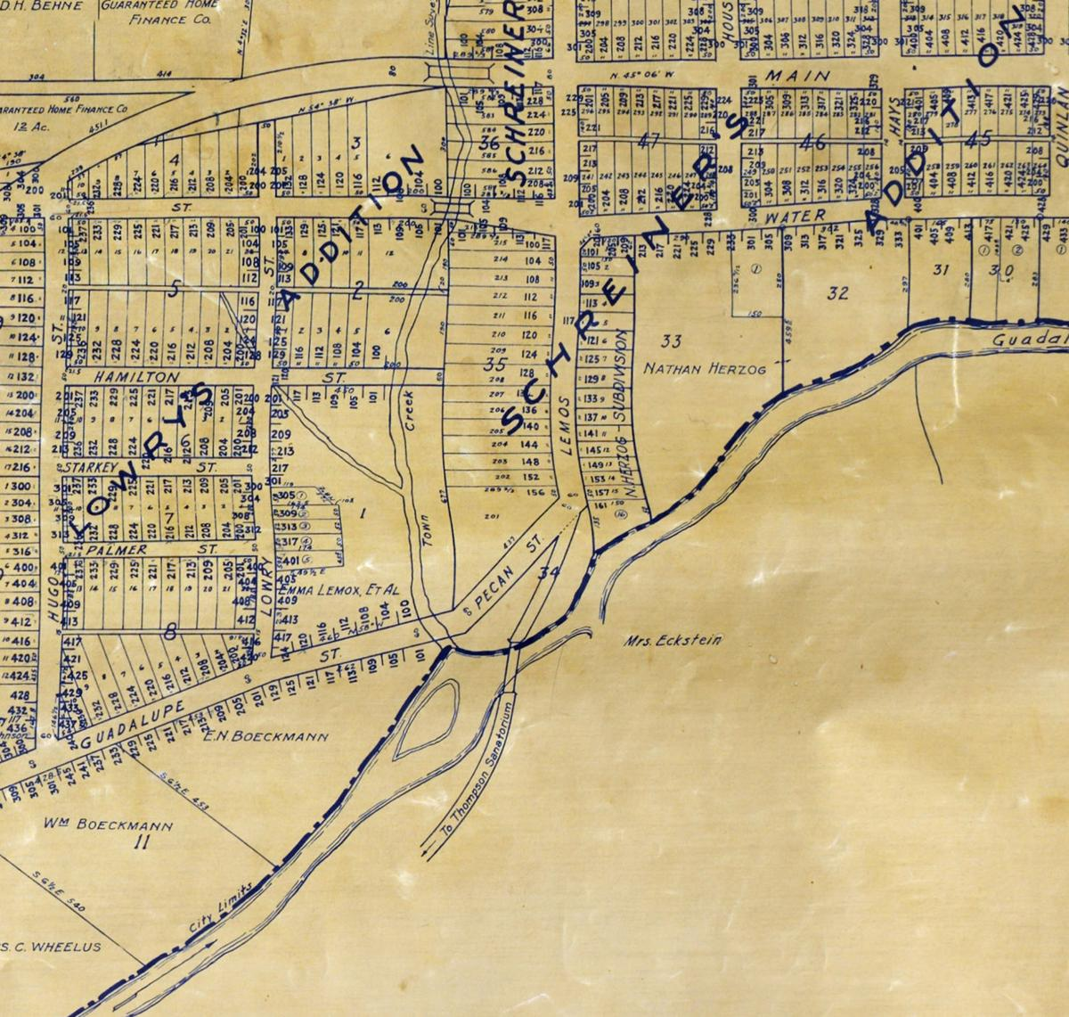 Detail, Lemos St and Guadalupe Crossing, 1934.jpg