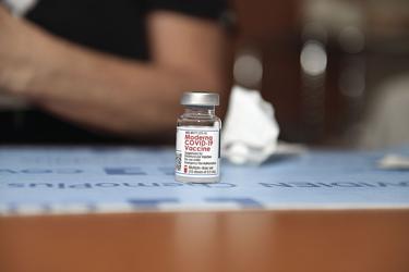 Moderna COVID-19 vaccine file photo