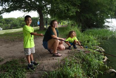 4-H'ers host annual fishing derby for area youngsters