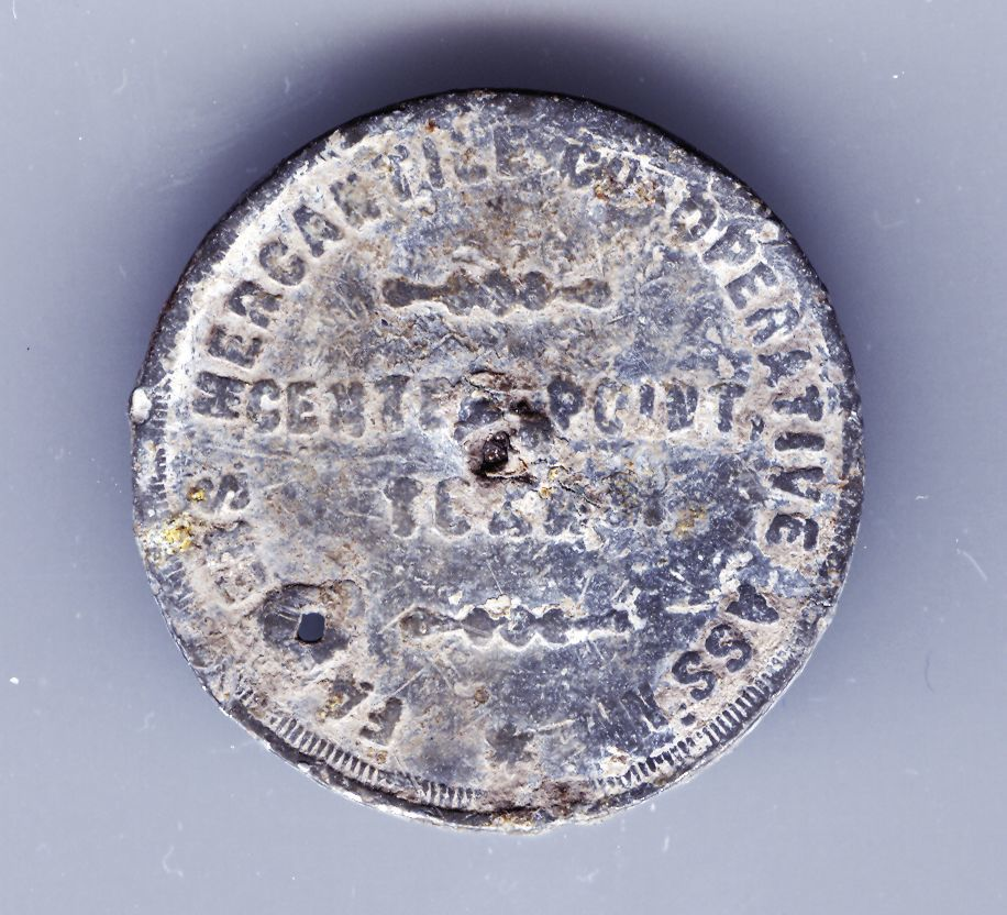 Center Point Coin Obverse