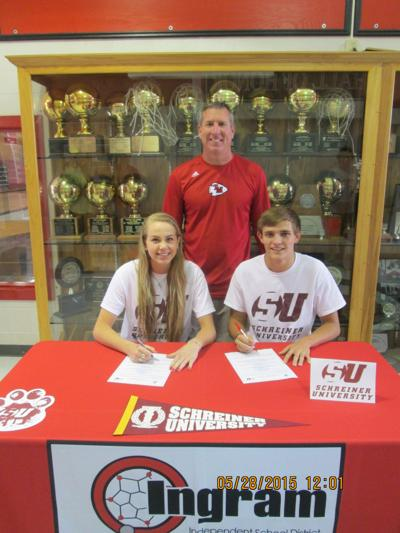 Local students sign with Schreiner