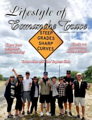 Lifestyles of Comanche Trace July-September 2018