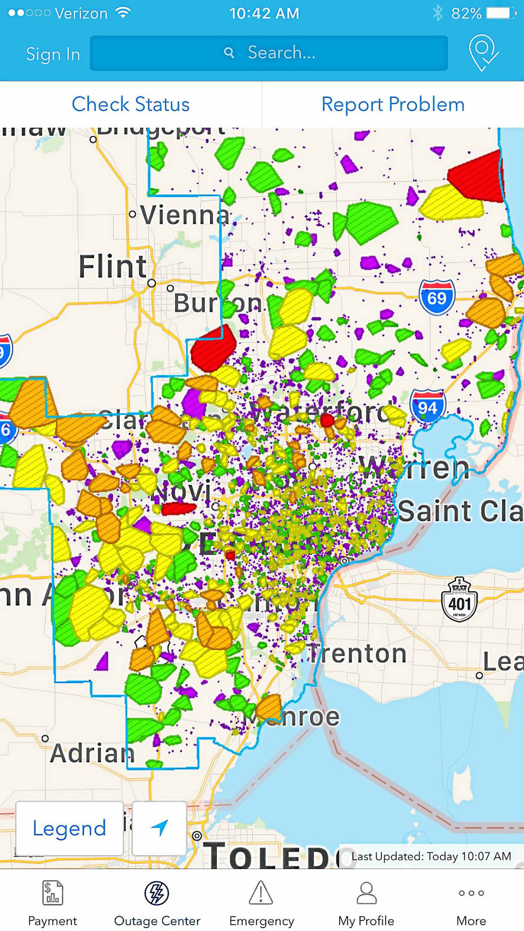 Dte Outage Map Restored Kind Of Nation And World News Dailytribune Com