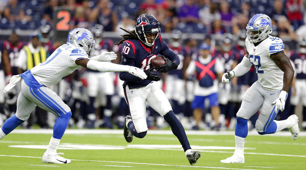 Lions Texans Football