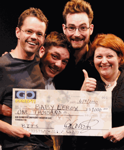 Improv competition winners selected