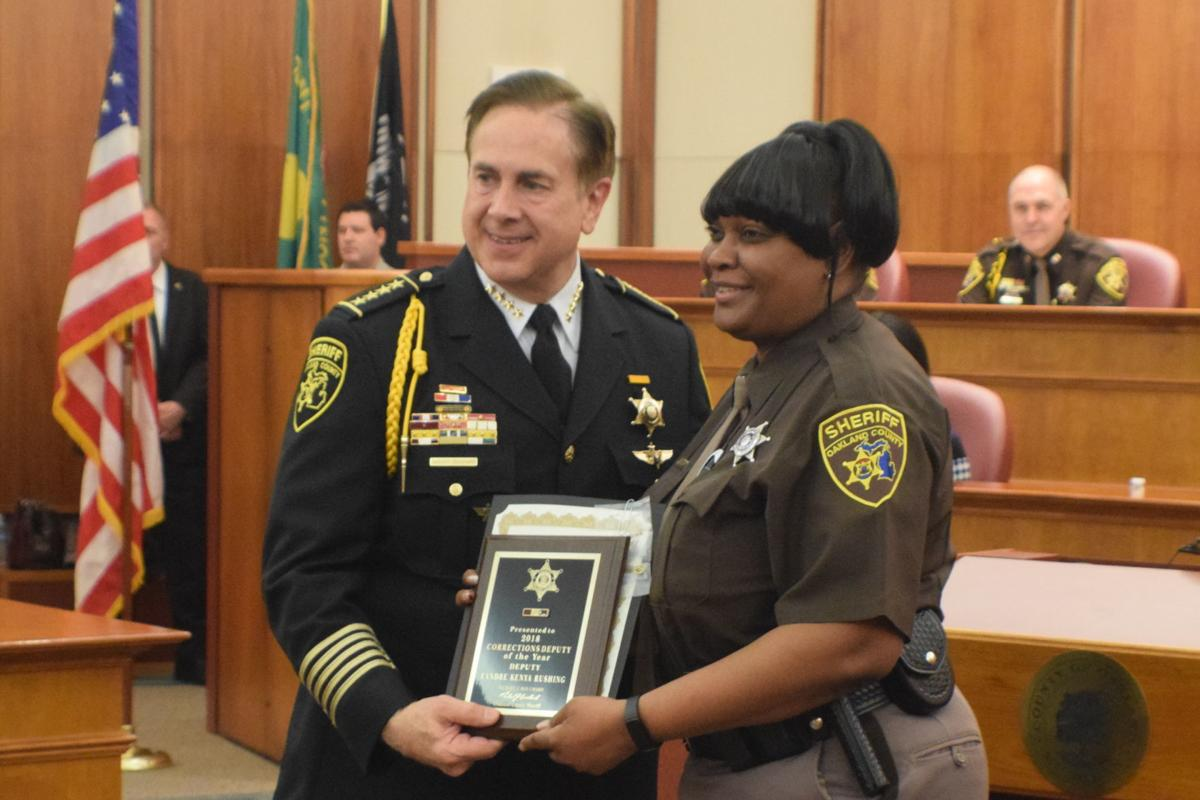 2019 Oakland County Sheriff's Office Awards Day Ceremony
