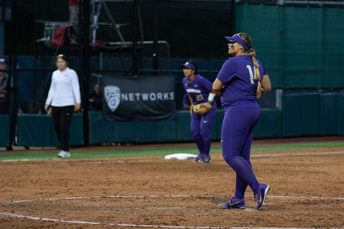 Five-run fifth enough for UW as Alvelo keeps moving up in