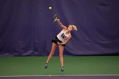 Huskies remain undefeated in individual matches against SU