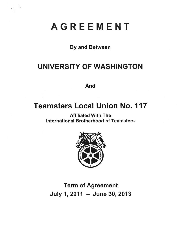 UWPD 2011 Contract