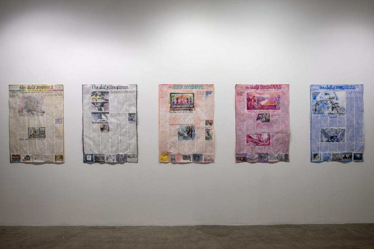 """Quinn McNichol at """"Notes on the Unseen"""""""