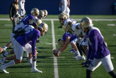 Notes and Quotes: UW spring practices hit halfway point