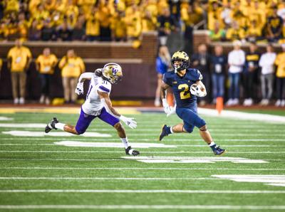 Washington overwhelmed by Michigan as horrid start to season continues
