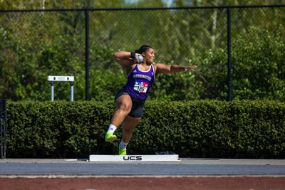 Washington track and field wins first home dual meet of the year