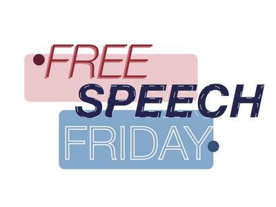 Free Speech Friday