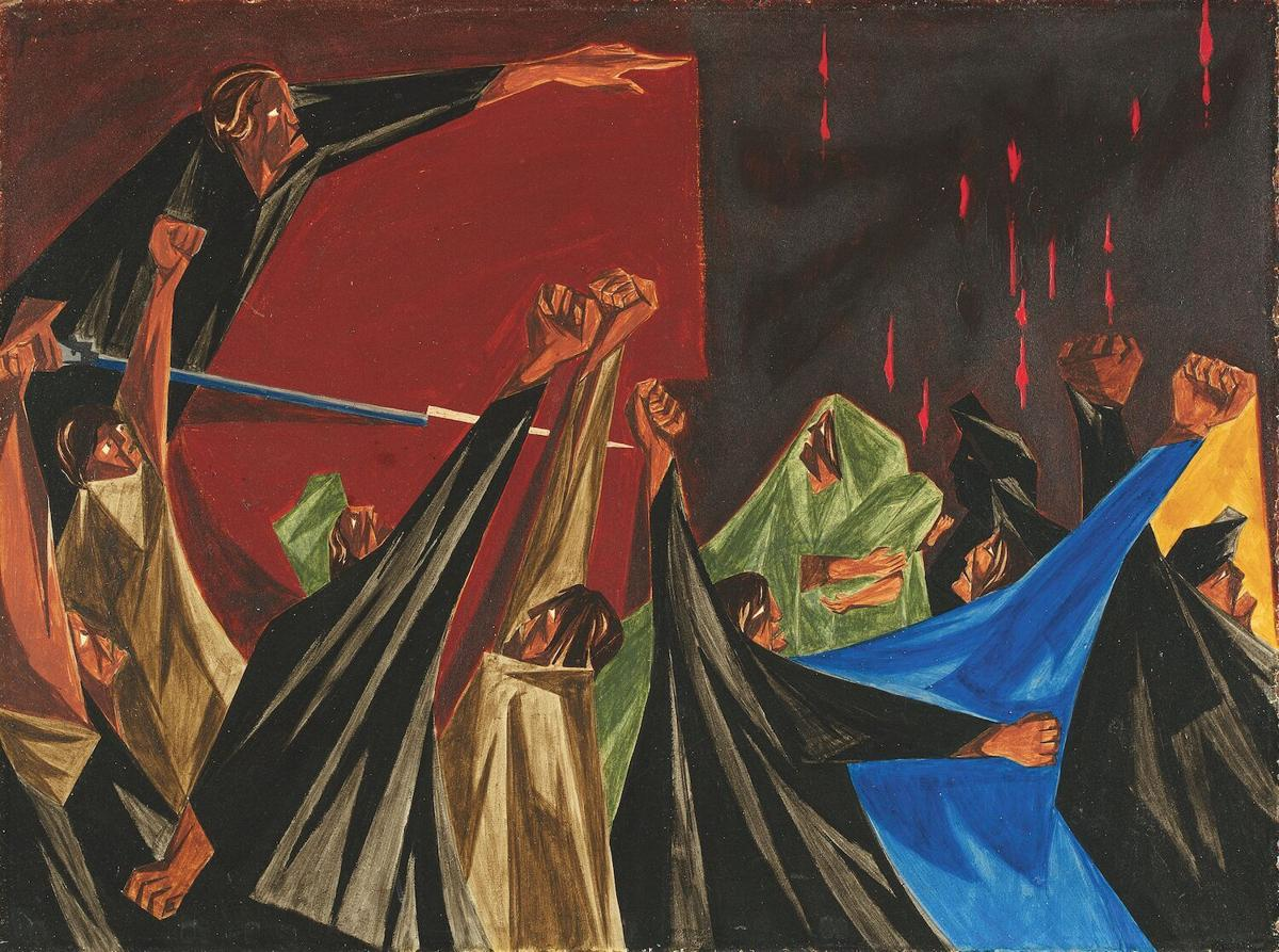 Jacob Lawrence exhibit at SAM two
