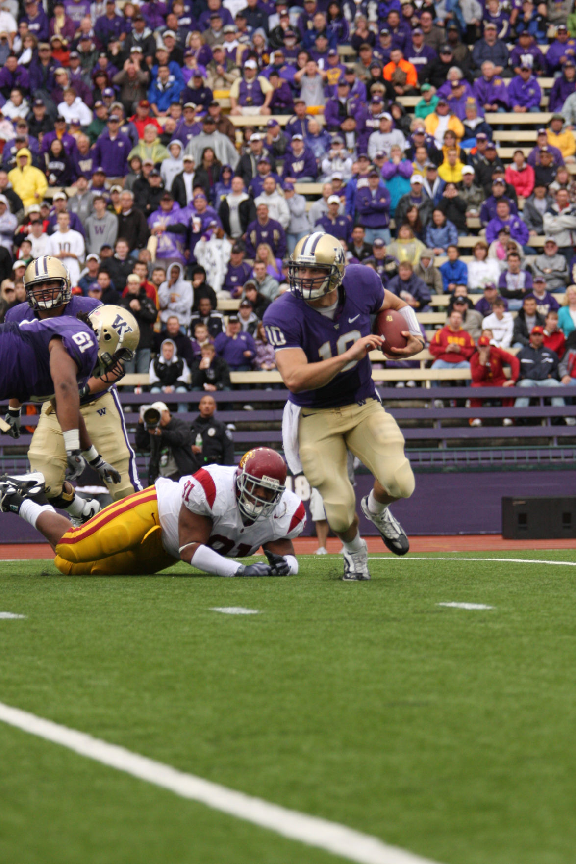 Ten years later: How the UW's upset over USC changed Washington football for good