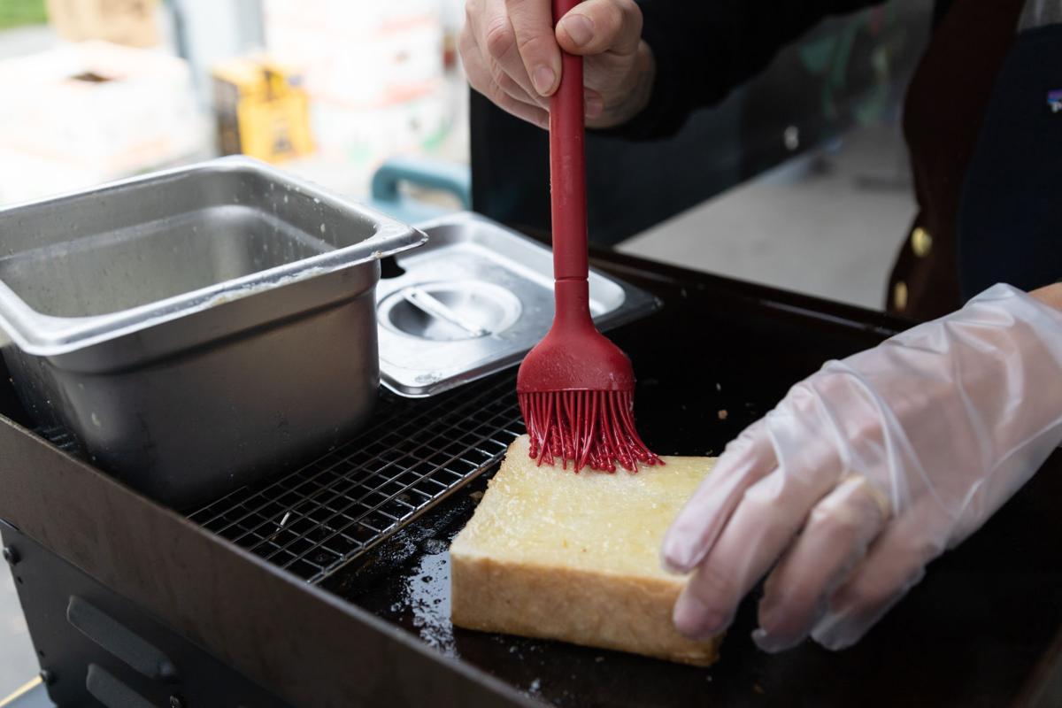 Ayako buttering
