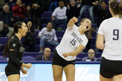 Instant: Huskies come back to beat Utah in five-set thriller