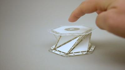 The art of origami inspires UW engineers to develop new materials to reduce impact forces during spacecraft landings