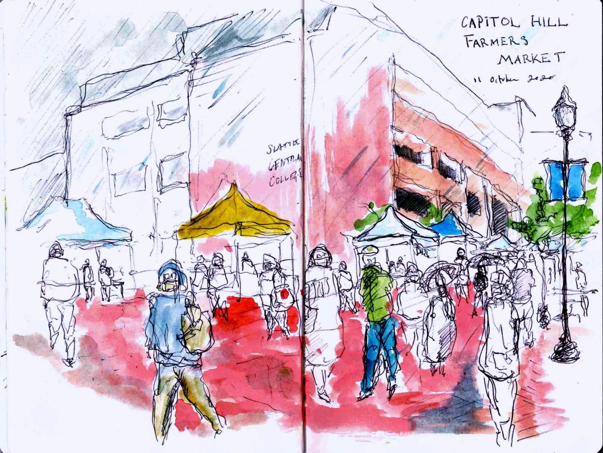 The Campus Sketcher 10/19 #1