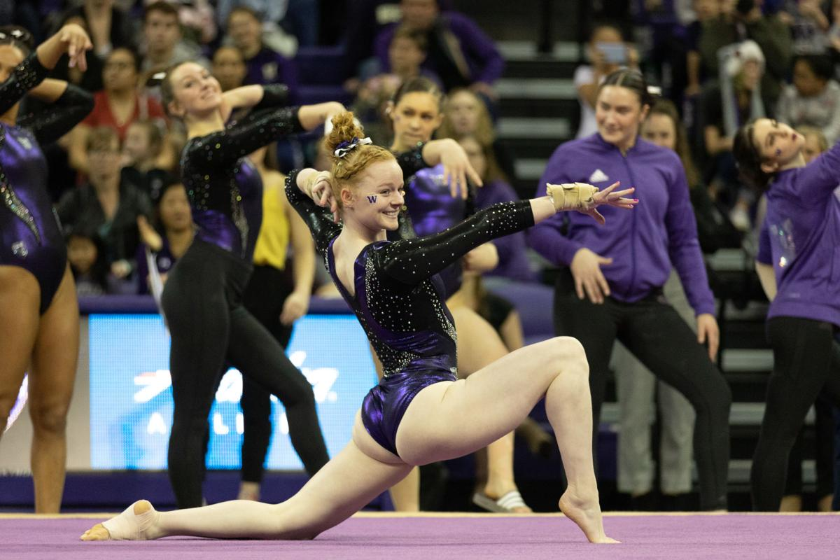 Gymnastics earns five All-American honors, sets program records to end season (2)