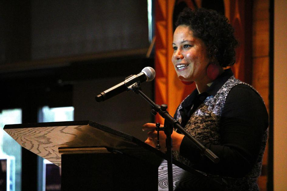 Nikkita Oliver inspires students at Q Center's 14th Annual Welcome Luncheon