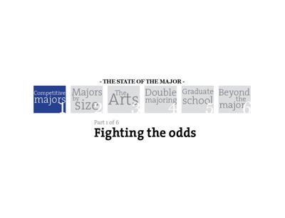 Fighting the odds