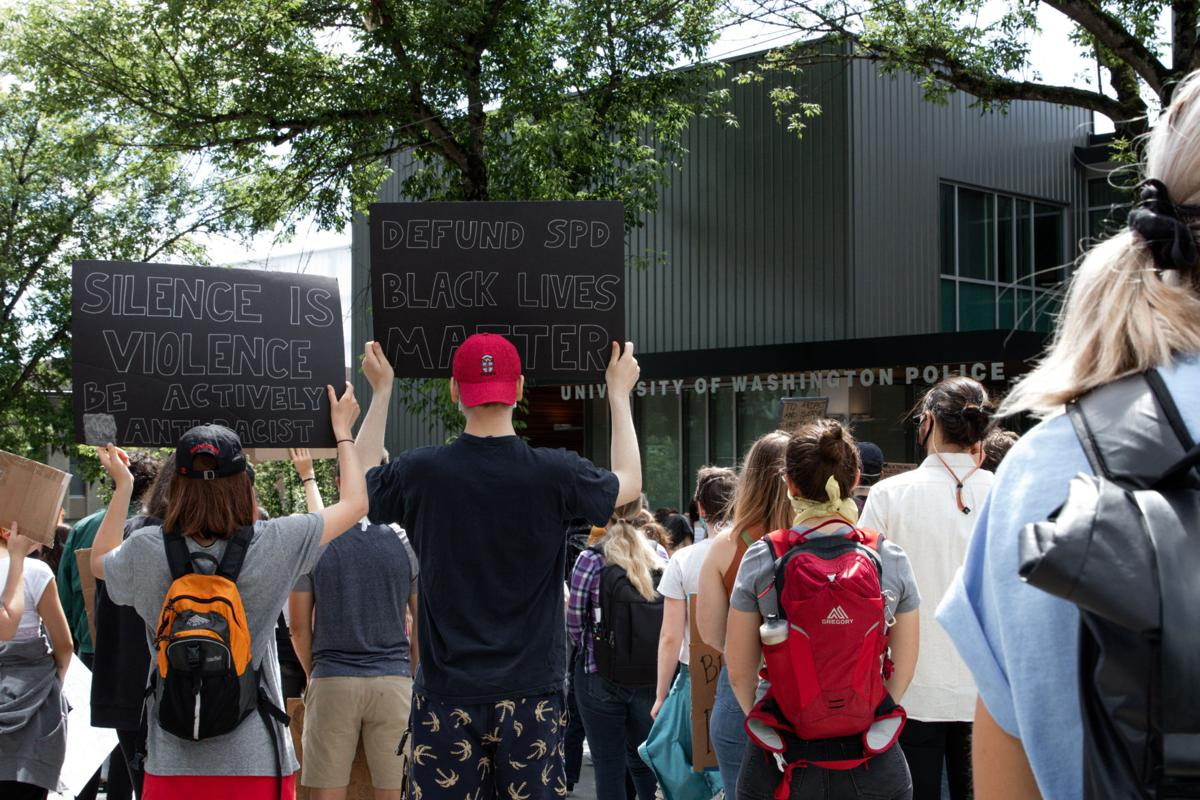 'Keep the pressure on': UW BLM continues to protest for unmet demands