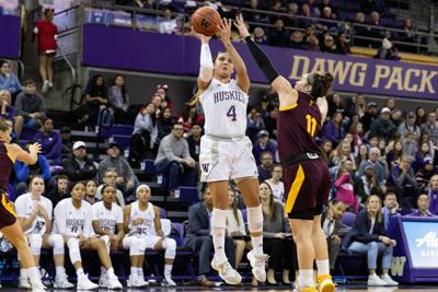 'We didn't quit': Huskies fall short despite strong second half