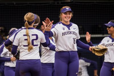 Gabbie Plain tosses second career perfect game in season-opening victory