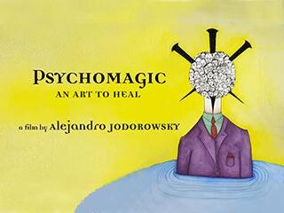 """""""Psychomagic"""" film cover image"""