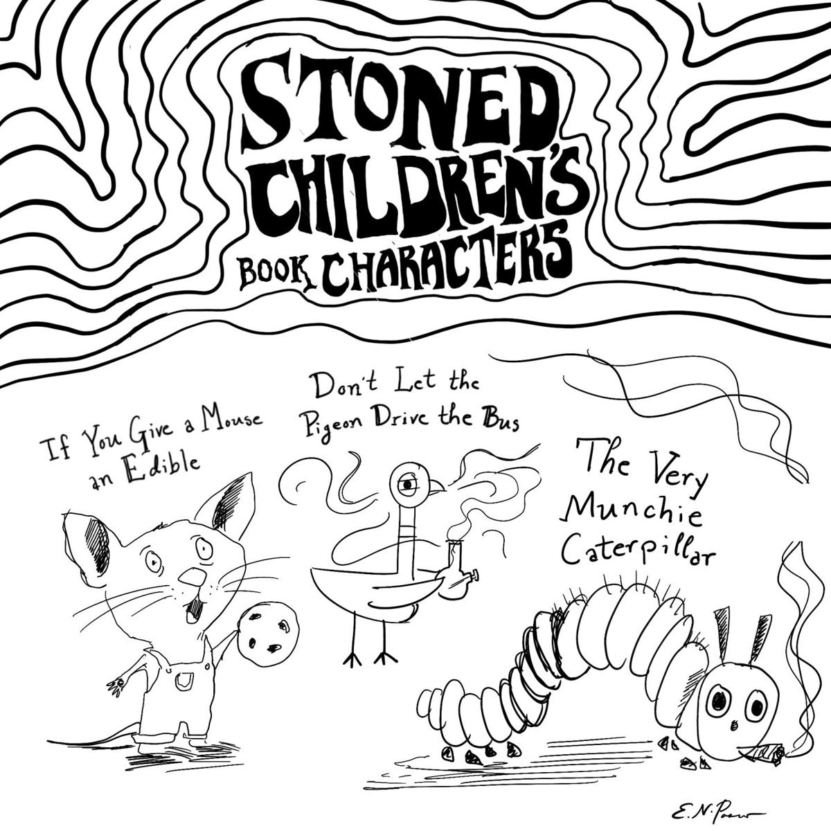Stoned children's book characters