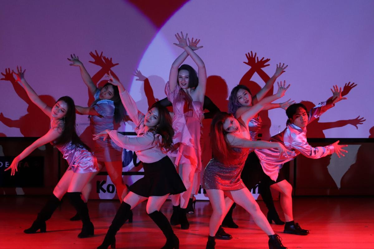 The Kompany performing at KSU Overnight in 2020