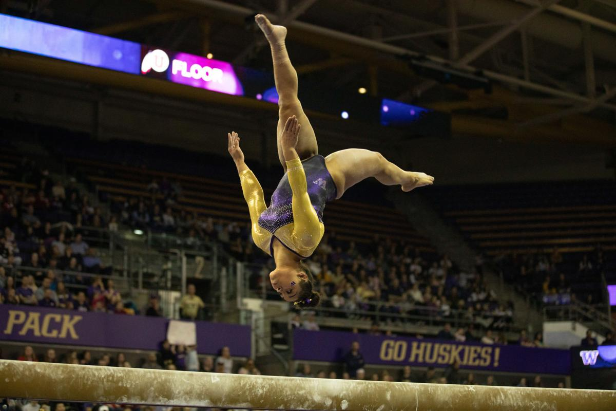Gymnastics earns five All-American honors, sets program records to end season