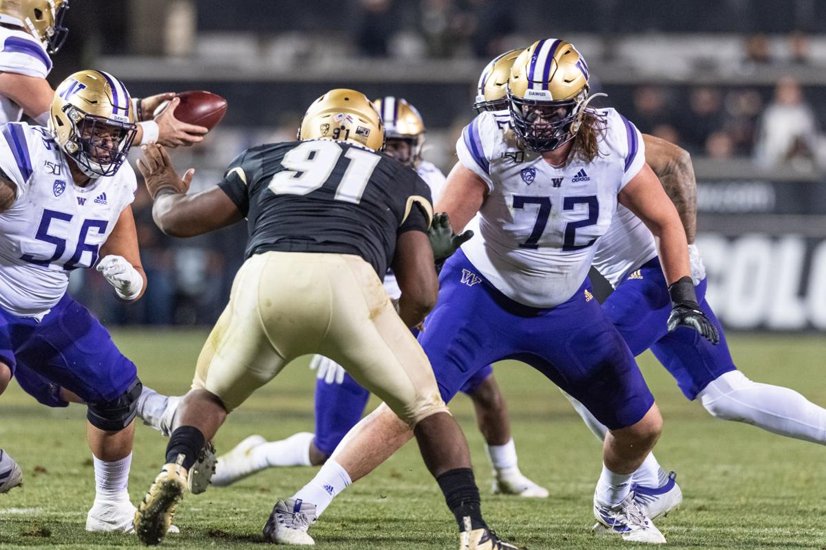 It may feel like 'frickin' 10 years,' but Trey Adams' time on Montlake is finally coming to an end